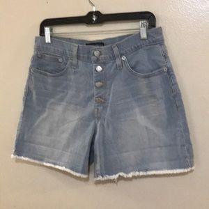 J Crew Mercantile Raw Hemmed Shorts